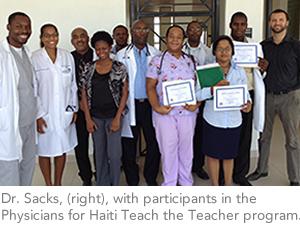 hysicians for Haiti Teach the Teacher program