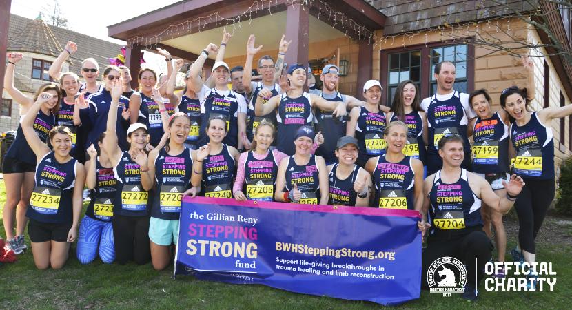 BWH Stepping Strong<br />Marathon Team