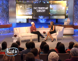 Face Transplant Patients Featured on Katie Couric Show