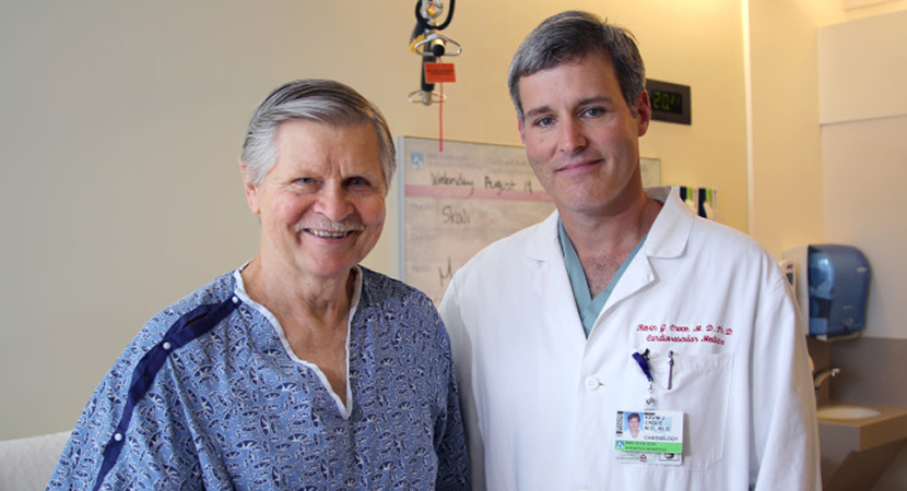 BWH Patient Credits ABC Documentary for Saving His Life