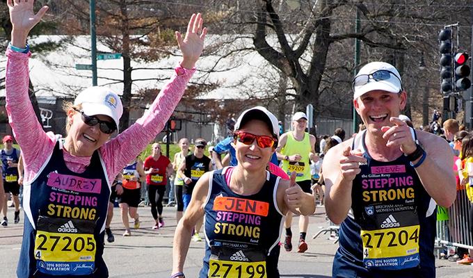 BWH Stepping Strong Marathon Team