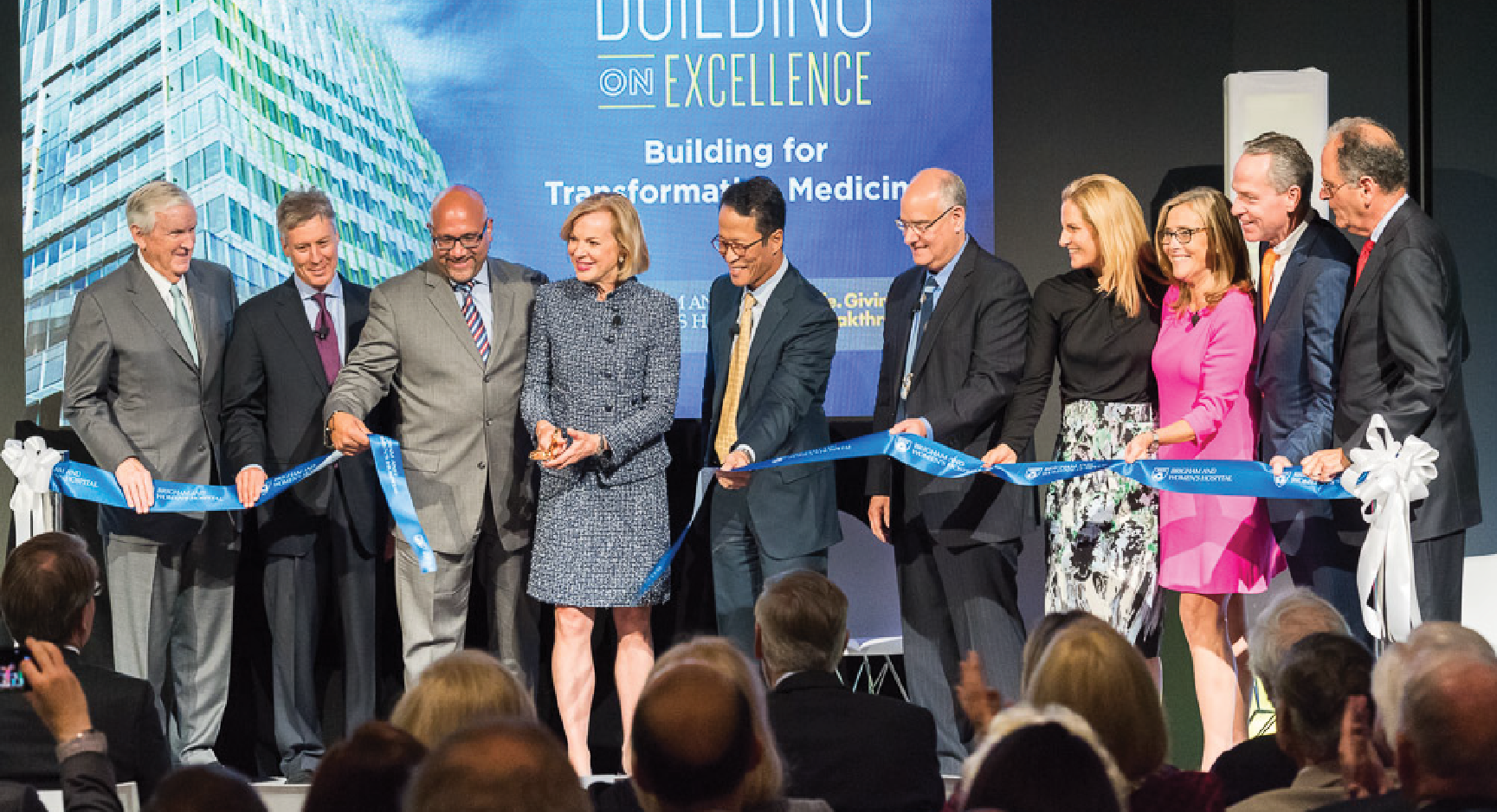 BWH opens new building, announces campaign extension<br/>to $1.5 billion
