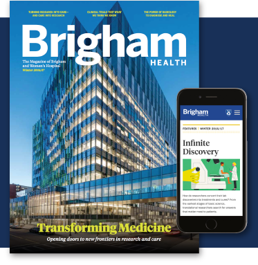 Introducing Brigham Health Magazine